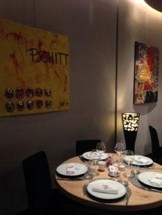 Nouveaux Tableaux Abstraits Chez Cuisine Et Dépendances Acte à - Cuisine et dependance lyon
