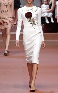 Dolce & Gabbana  Trunkshow Look 1 on Moda Operandi