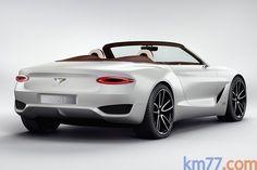 Bentley EXP 12 Speed 6e concept Descapotable Exterior Lateral-Posterior 2 puertas