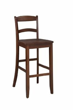 Cadillac Crest Single Foot Ring Barstool With Swivel By On