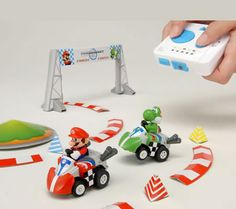 MARIO Kart! My dream is coming to 3-D!