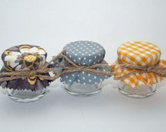 Mini Honey Jar Wedding Favours DIY favours