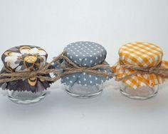 Mini Honey Jar Wedding Favours DIY favours