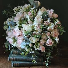 Scented Pastel Roses and Narcissi bouquet from The Real Flower Company