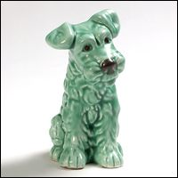 Fab SylvaC dog - so cute! Old Photographs, Fox Terrier, Scottie, Vintage Images, Lion Sculpture, Museum, Pottery, Decor Ideas, Ceramics