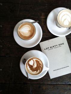 Lot Sixty One Coffee, Jordaan Amsterdam