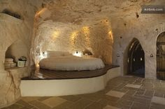 Columbarium Cave Apartment in Israel