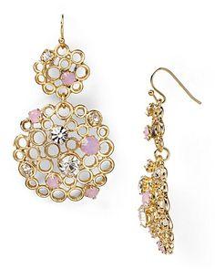 RJ Graziano Filligree Floral Earrings | Bloomingdales