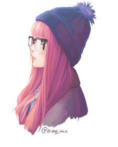 Character Design Illustration ~ By Hiba_tan Hipster Hairstyles, Girl Hairstyles, Hiba Tan, Character Art, Character Design, Art Et Illustration, Cute Girl Illustration, Girl Illustrations, Pretty Art