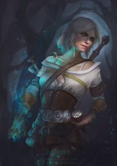 Ciri fanart by JulijanaM on DeviantArt