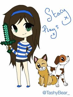 It's stacyplays and her dogs,page,and molly!