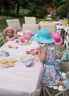 A perfect little tea party for little girls! Look at the details of this perfect toddler tea party - it's so adorable! Toddler Tea Party, Throw A Party, Mom Advice, Best Mom, Lifestyle Blog, First Birthdays, Claire, Little Girls, Atlanta