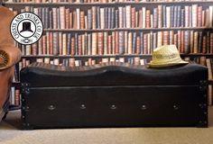 Image result for large leather trunks furniture