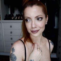 maquiagem em tons metálicos