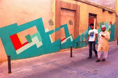 I stumbled upon this mural by Nuria Mora in Lavapies (Madrid). Really like this artist. #graffiti #streetart