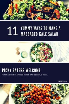 11 Yummy Ways to Make a Massaged Kale Salad (Picky Eaters Welcome)