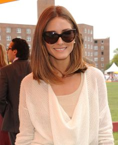Olivia Palermo hair cut and colour