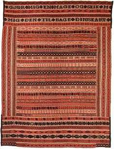 Coverlet from Nord-Österdalen Museum