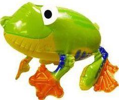 Friendly Froggy Balloon Buddy Airl Waker Foil Balloon