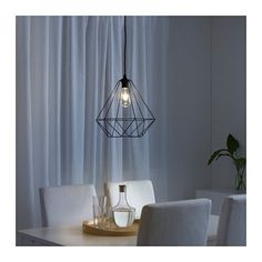 IKEA - BRUNSTA, Pendant lamp shade, black, Fits cord sets from the HEMMA and SEKOND series. Cord set is sold separately. Light source is sold separately. Shabby Chic Lamp Shades, Rustic Lamp Shades, Modern Lamp Shades, Small Lamp Shades, Wooden Lampshade, Diy Lampshade, Cool Lamps, Kallax