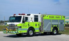 Miami Fire Department | Miami-Dade Fire Rescue - #1478743172 - FIREPIX21 Fire Apparatus Photo ...