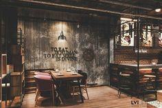 Coffee Shop Design, Cafe Design, Cocktail Bar Design, Restaurant Bar, Restaurants, Industrial, Dreams, Mini, Box