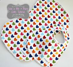 Bib and Burp Cloth Sewing Tutorial | View From The Fridge