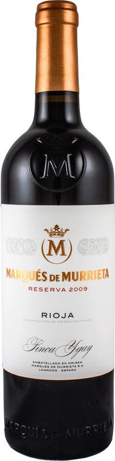 Marqués de Murrieta Reserva 2009.