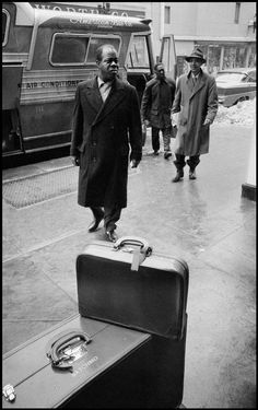 Louis Armstrong, 1958 | Dennis Stock