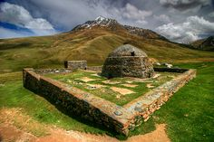 The ancient caravanserai of Tash Rabat - a monument of the history of the Great Silk Road.  #Kyrgyzstan #history