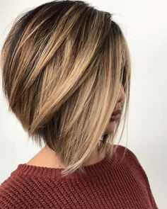 35 hottest bob haircuts & bob hairstyle trends to try now - bob hairstyles, medi. - 35 hottest bob haircuts & bob hairstyle trends to try now – bob hairstyles, medium bob haircut, b - Inverted Bob Hairstyles, Short Bob Haircuts, Short Highlighted Hairstyles, Angled Bob Hairstyles, Fancy Hairstyles, Short Hairstyles With Highlights, Med Haircuts, Womens Bob Hairstyles, Short Summer Haircuts