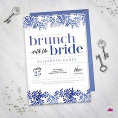 Brunch with the Bride - Brunch Bridal Shower! Something Blue!
