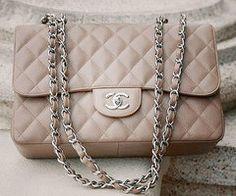 Chanel bag in beige