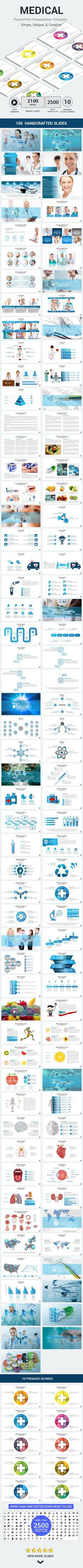 Medical PowerPoint Presentation Template #design #slides Download: http://graphicriver.net/item/medical-powerpoint-presentation-template/14387130?ref=ksioks
