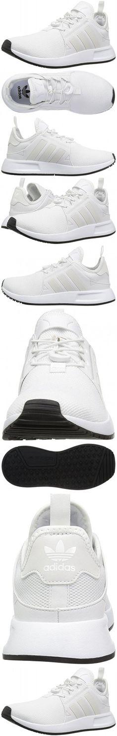 Adidas Originals Kids' X_Plr J Sneaker, White/White/Vintage White St, 4 M US Big Kid