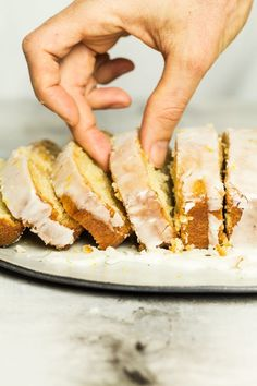 Vegan lemon drizzle cake Gluten Free Recipes m&s gluten free lemon drizzle cake Vegan Dessert Recipes, Almond Recipes, Healthy Desserts, Baking Recipes, Cake Recipes, Healthy Dishes, Gluten Free Lemon Drizzle Cake, Vegan Lemon Cake, Vegan Treats
