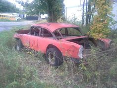 Old race car