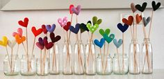 Cute and inexpensive way to make a centre piece for a table