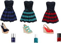 """Holister Dresses!"" by jasminstorey on Polyvore"
