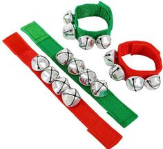christmas jingle bell band bracelet Case of 144