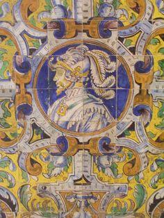 Conquistador tiles - Andalusia, Spain
