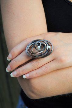 Ring | Jesus (Jesse) Torres-Medina.  Copper, pearls.
