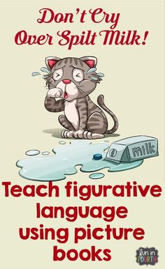 Using Picture Books to Teach Figurative Language. Repinned by SOS Inc. Resources pinterest.com/sostherapy/.