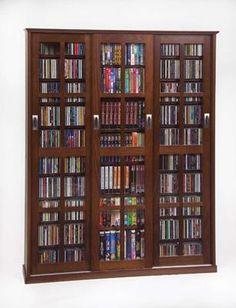 Mueble de madera para cd abierto casa en orden - Para guardar cds ...