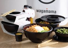 wagamama Take Away Packaging | Creative Food Box Packaging Design Ideas | Award-winning Packaging Design | D&AD