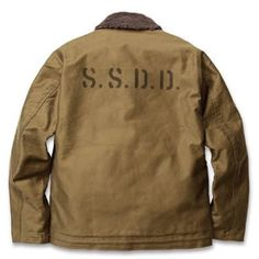 "SSDD N-1 DECK JACKET, ""MOTOR CITY BURNING"" F/W 15 #FUCT #FUCTSSDD #DETROIT #MOTORCITYBURNING #SSDD#JAPAN"