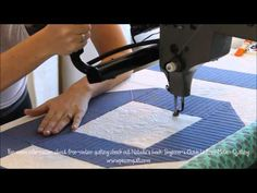 ▶ How To: Machine Quilt Swirly Feathers with Natalia Bonner - YouTube