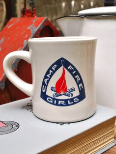 Camp Fire Girls Mug..Rochelle was a campfire girl:)