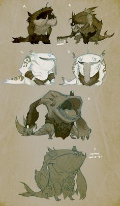 Tahm Kench (new character in online multiplayer game, League of Legends) early concept02 by Lonewingy on DeviantArt