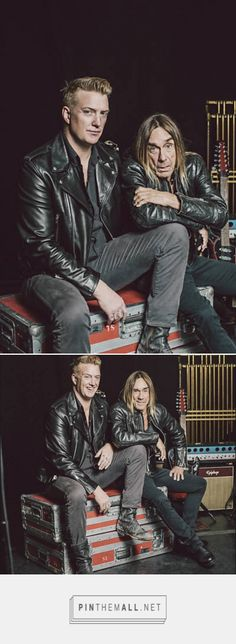 Josh Homme (Queens of the Stone Age) and Iggy Pop